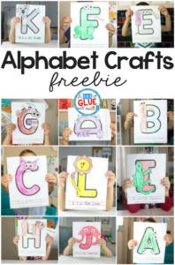 """<b><a href=""""https://www.adabofgluewilldo.com/animal-alphabet-letter-crafts/"""">Animal Alphabet Letter Crafts</a></b>"""