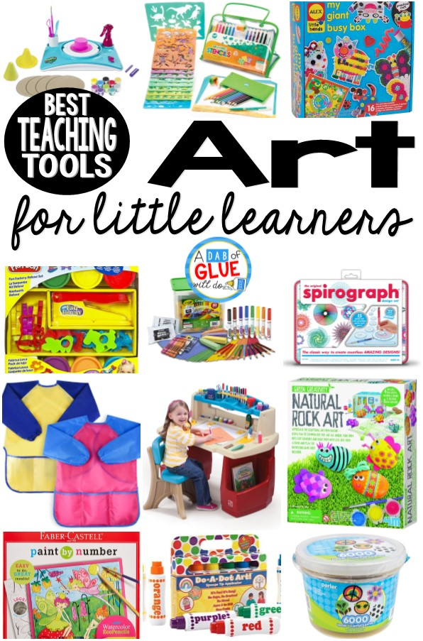 Best Art Teaching Tools for Little Learners