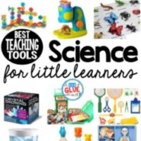 There isn't always time to test and research. So I created this list of the best science teaching tools for little learners to help you add science in to your learning centers today!
