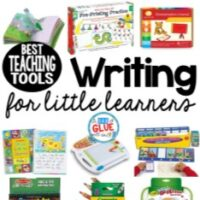 I have always loved teaching writing to my students! It's a skill I know they will use for their entire life and it's so important to help develop good writing skills at an early age. That's why I created this list of the best writing teaching tools for little learners.