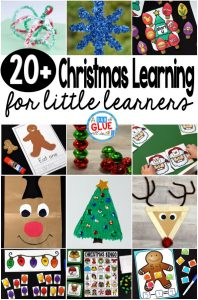 Christmas is a magical time of year to teach! Although it can be busy, it also allows you to bring out fun Christmas printables and Christmas crafts for your students. Here's the very best Christmas learning resources for littler learners to use in your classroom this winter!