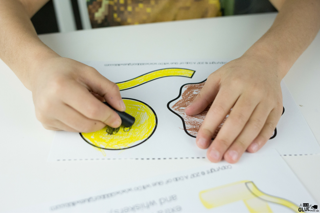 Check out this Animal Alphabet L is for Lion Craft! This is a great letter of the week craft for your students for the letter L.