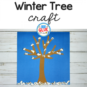 Winter Craft and Snack For Kids