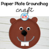 Try this Paper Plate Groundhog Craft in your elementary classroom as your next winter craft idea! It's a great fine motor craft and for nonfiction units!