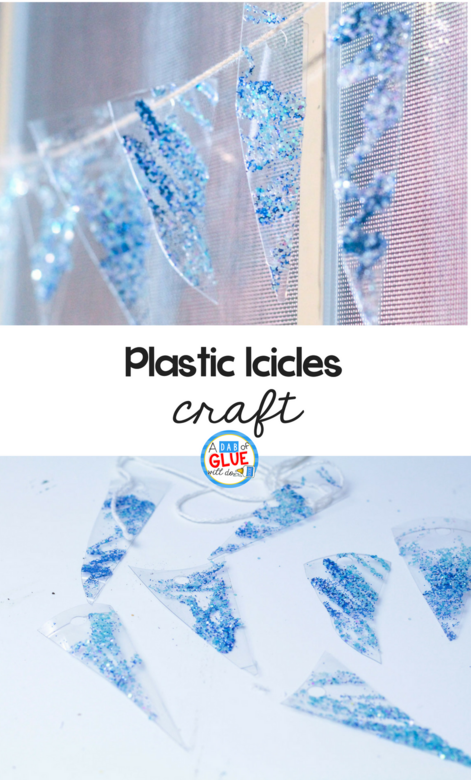 Icicle Ornaments from Recycled Cups