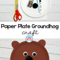 Try this Paper Plate Groundhog Craft in your elementary classroom as your next winter craft idea! It's a fun fine motor activity.