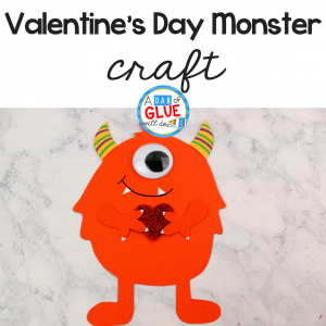 Valentine's Day Monster Craft