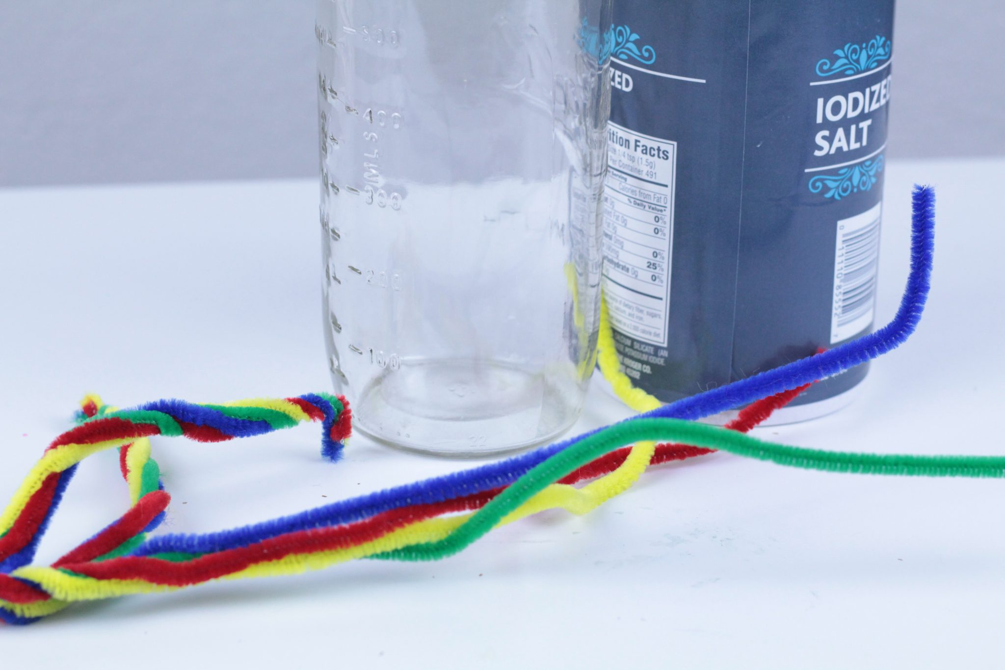 This Salt Crystal Rainbow Science for Kids is perfect for your spring STEM lesson or your color science lesson for kids. It's a simple science idea too!