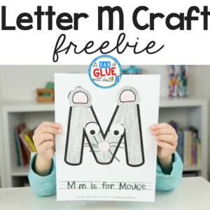 Animal Alphabet M is for Mouse Craft