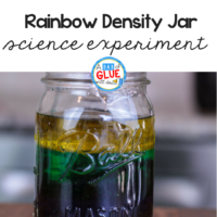 Your students will love this fun science experiment! You'll need a couple simple materials for this density for kids science experiment.