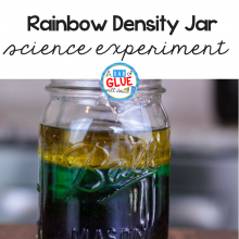 Rainbow Science Experiment: Density for Kids