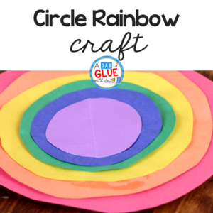 Rainbow Crafts with Circle