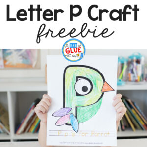 Animal Alphabet P is for Parrot Craft
