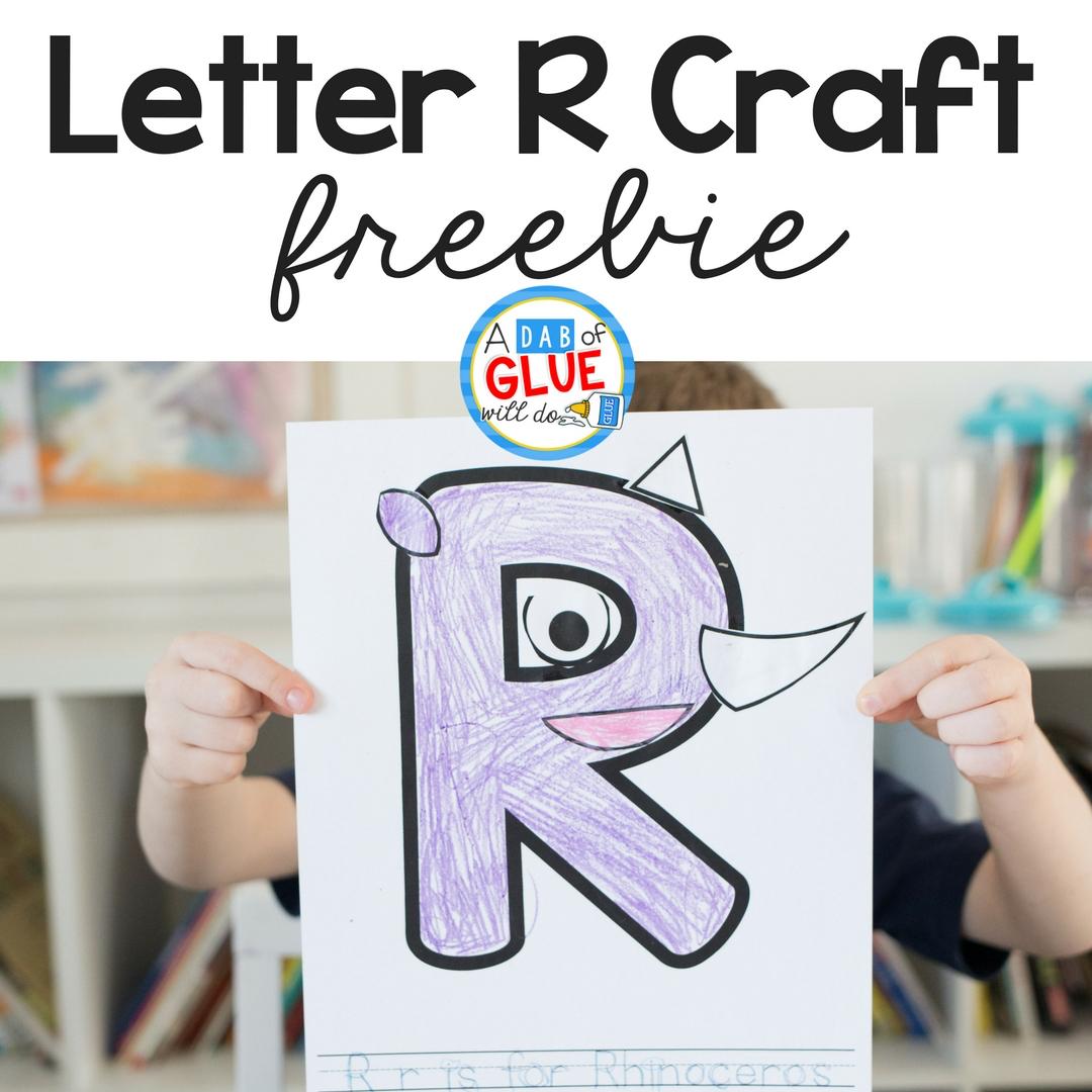 Animal Alphabet Letter R