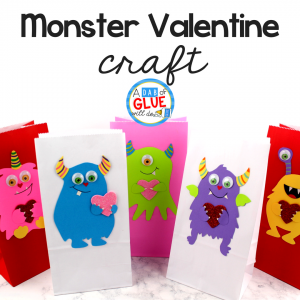 Monster Valentine Decorations for Your Classroom