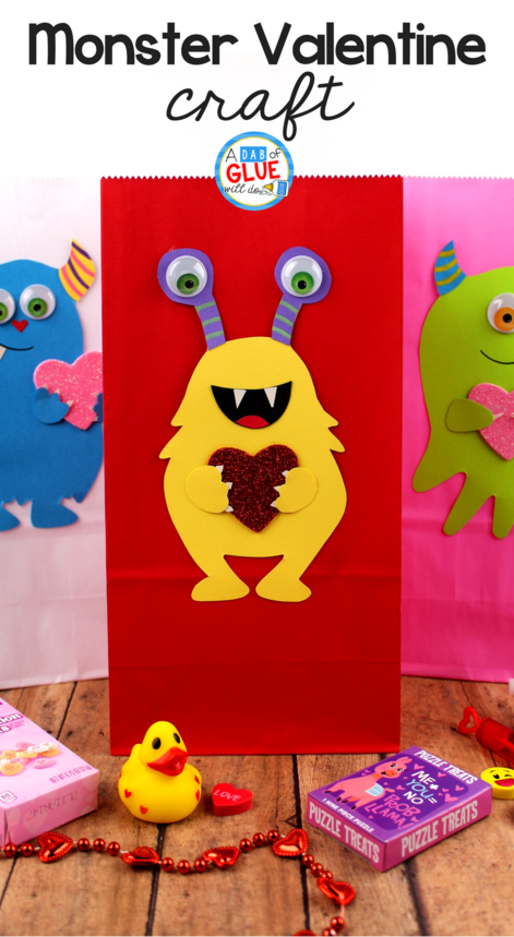 Are you planning on making Valentine's Day boxes for your students? Try making this fun Monster Valentine Decorations for Your Classroom instead!