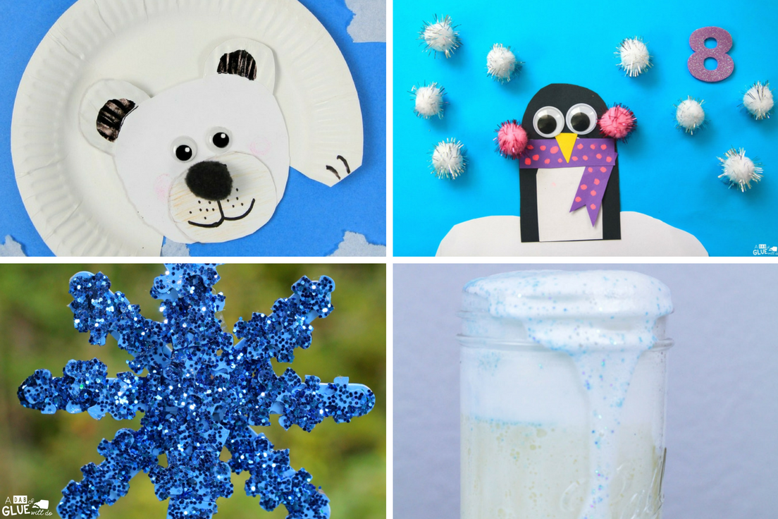 Need some winter craft ideas? Here's a great set of Winter Activities for Kindergarten that your little learners will LOVE!