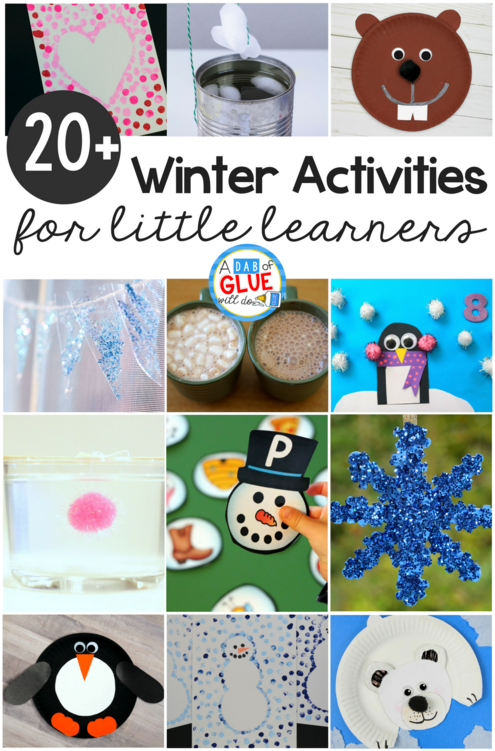 Winter Activities For Kindergarten