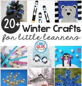 Winter Crafts for Kindergarten