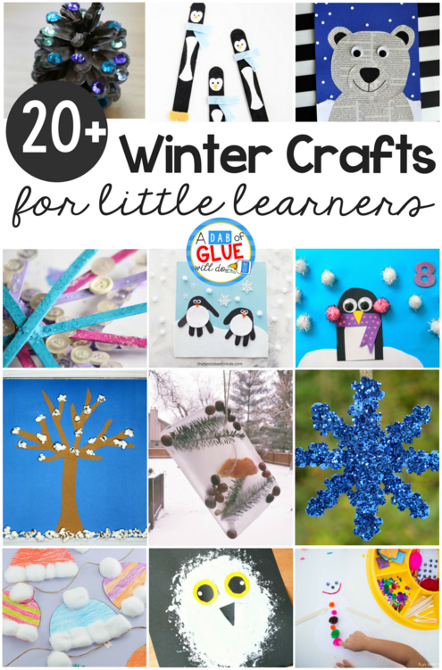 Winter Crafts For Kindergarten