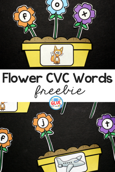 Spring is in the air and what better way to get your students in the mood than with this adorableFlowers CVC Word Building Activity Freebie. This printable is the perfect addition to your literacy centers this spring. Your students will LOVE building cvc words - promise!