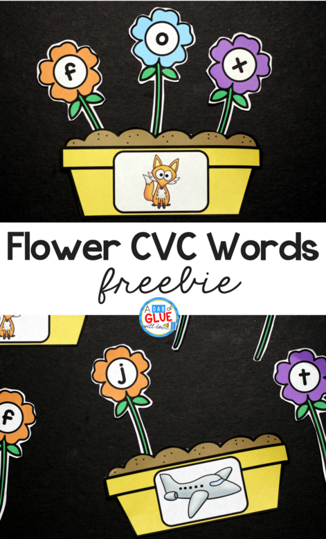 Spring is in the air and what better way to get your students in the mood than with this adorable Flowers CVC Word Building Freebie. This printable is the perfect addition to your literacy centers this spring. Your students will LOVE building cvc words - promise!