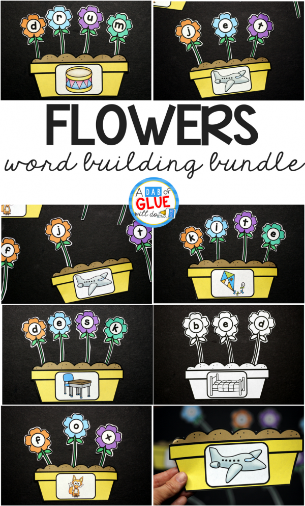Spring is in the air and what better way to get your students in the mood than with this adorable Flowers CVC Word Building Activity Freebie. This printable is the perfect addition to your literacy centers this spring. Your students will LOVE building cvc words - promise!