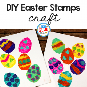 DIY Easter Stamps for Kids