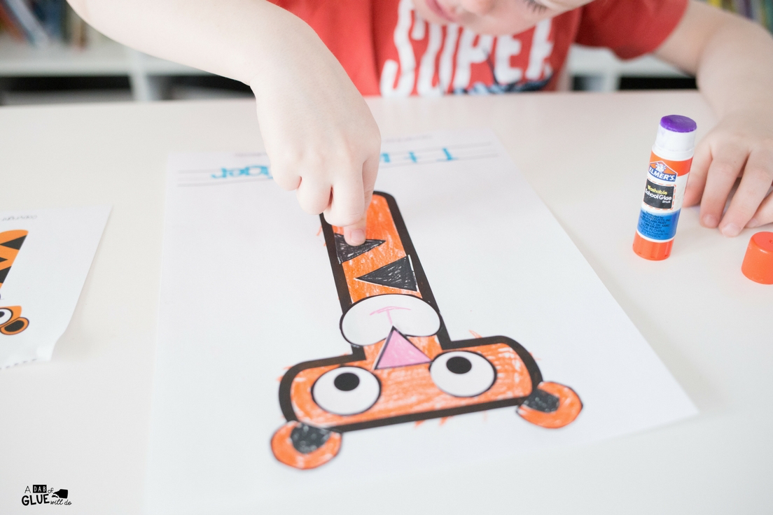 Your little learners are going to love this Animal Alphabet T is for Tiger Craft for their letter of the week projects. Add this letter craft to your day!