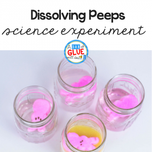 Dissolving Peeps Science Experiment for Kids