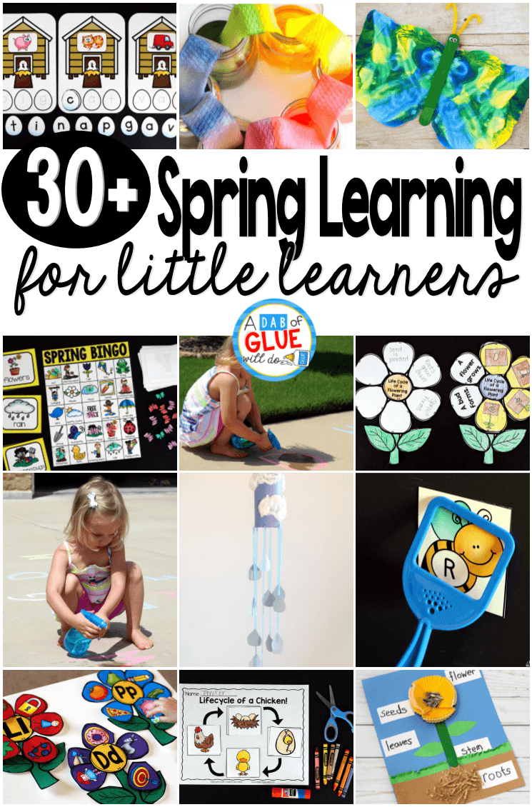 30+ ways for our little learners to have some fun Spring Learning