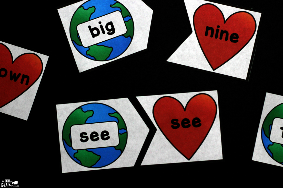 Earth Day Editable Puzzles is the perfect addition to your literacy or math centers this spring. This free printable comes in color or black and white.