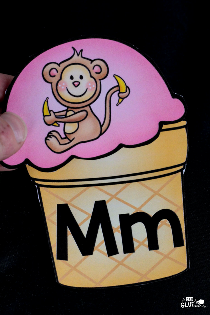 Students will love this ice cream initial sounds match up! A fun addition to your early literacy centers.
