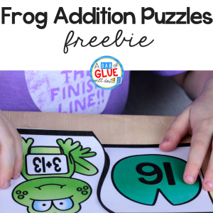 Frog Addition Puzzles