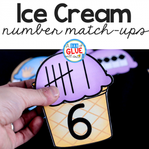Ice Cream Number Match Up