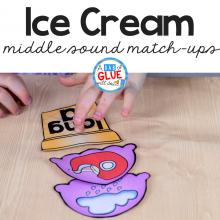 Ice Cream Middle Sound Match Up