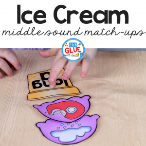 Ice Cream Middle Sound Match Up
