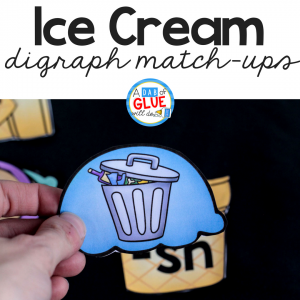 Ice Cream Digraph Sound Match Up