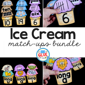 Ice Cream Match Ups Bundle