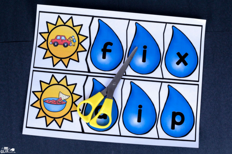 Make early literacy hands-on and fun with this Spring CVC puzzles freebie!