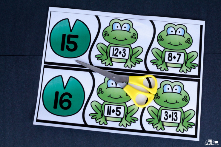 Your students will love these Frog Addition puzzles! Great for your math centers OR to take home for summer break.