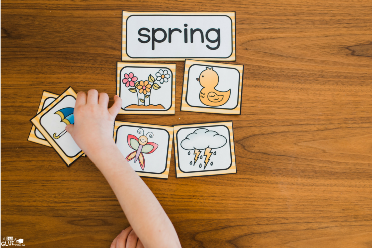 Your students will love this Seasons Sort printable!