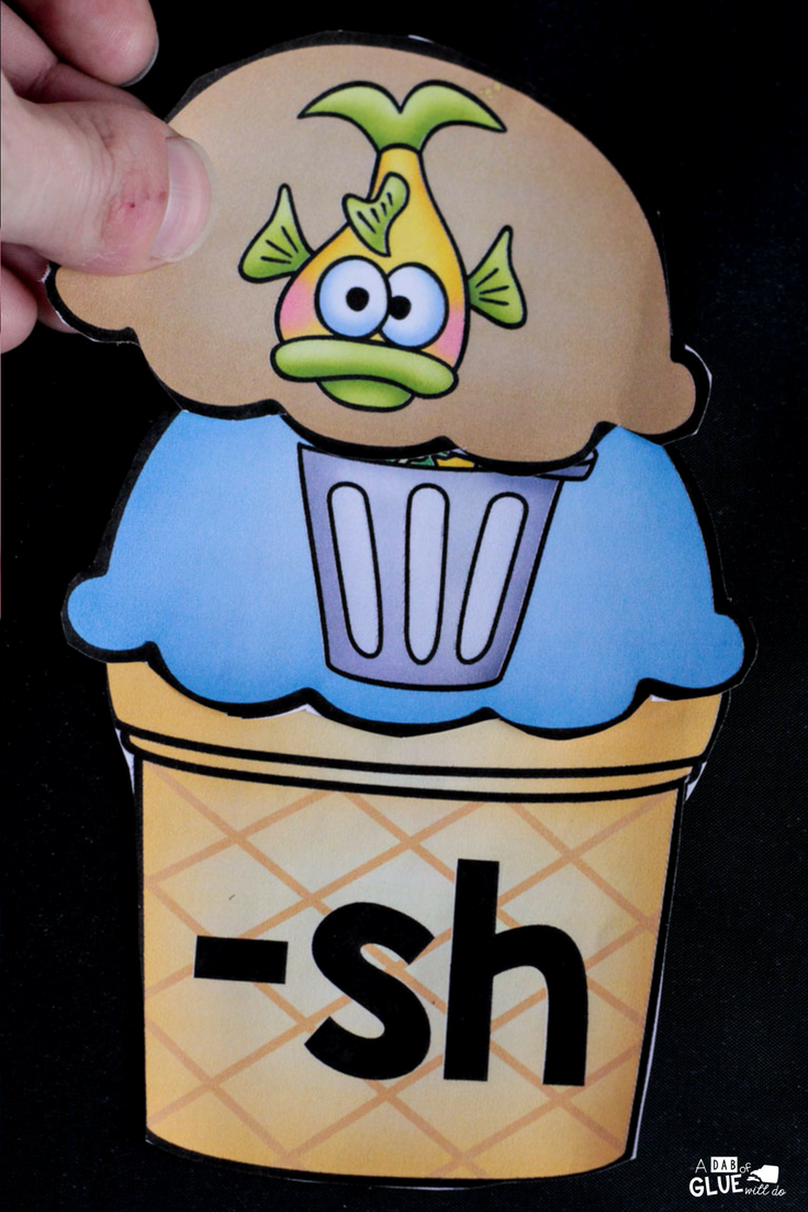 Your early learners are going to LOVE this Ice Cream Digraph Sound Match Ups! Perfect for your early literacy centers.