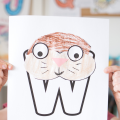 To continue with our weekly letter craft I've created this Animal Alphabet W is for Walrus Craft so our preschool and kindergarten students.