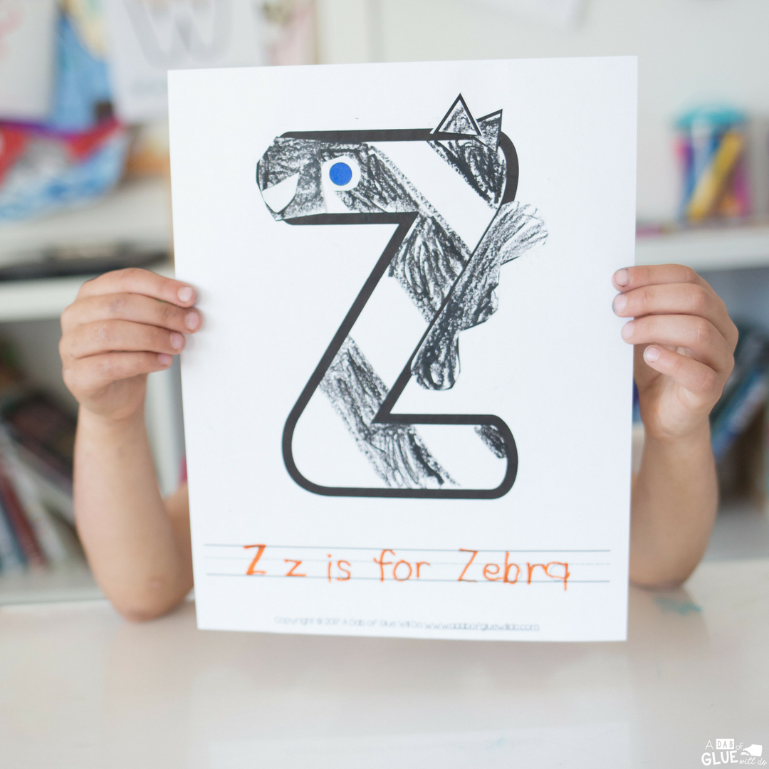 adorable z is for zebra