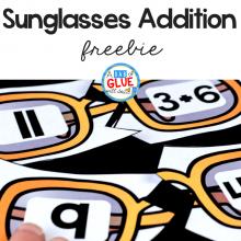 Sunglasses Addition Puzzle