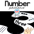 Your students are going to LOVE having these number posters for reference or hands-on math fun.