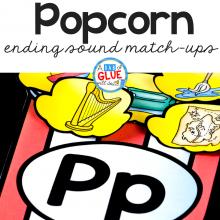 Popcorn Ending Sound Match Up