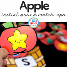 Apple Initial Sound Match Up