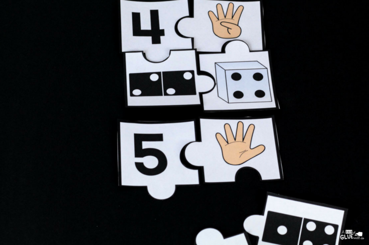 Your students are going to LOVE using these number puzzles in your math center! The perfect addition to your PreK, Kindergarten, or First Grade classroom.